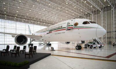 Rifa del avión presidencial