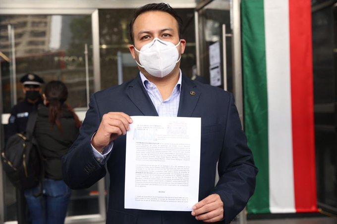 PAN denuncia a AMLO ante la FGR