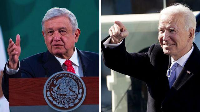 """#EsclavoDeSusPalabras """"Los que esperan confrontación con Biden, se van a quedar con las ganas"""": AMLO"""