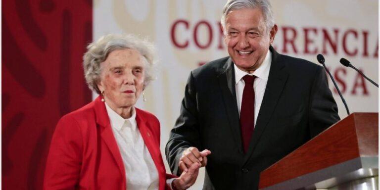 """""""Señor presidente, ya párele con las mañaneras, hay un hartazgo nacional"""": Elena Poniatowska"""